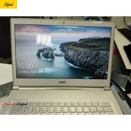 لپ تاپ استوک Acer Aspire S7، لپ تاپ استوک ، سبک ، صفحه لمسی ، استوک دیجیتال www.stockdigital.ir
