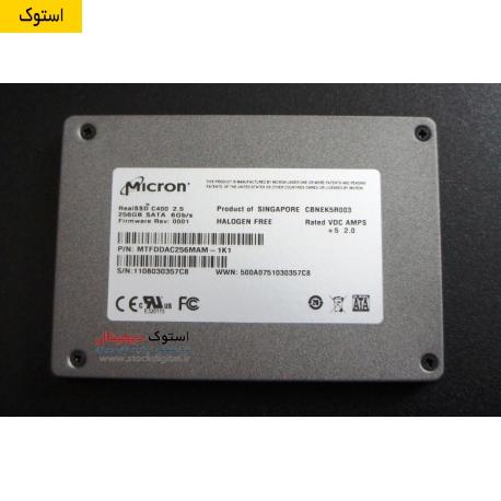 هارد اس اس دی میکرون SSD Micron C400 256GB استوک دیجیتال www.stockdigital.ir
