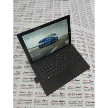 تبلت استوک مايکروسافت مدل Surface Pro 3 - به همراه کيبورد ظرفيت 128 گيگابايت