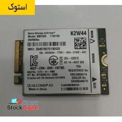 ماژول سیم کارت Dell DW5809e Sierra EM7305 4G LTE