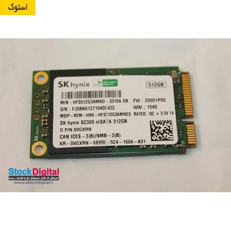 هارد استوک SK Hynix 512gb Sc300 mSATA SSD 512GB
